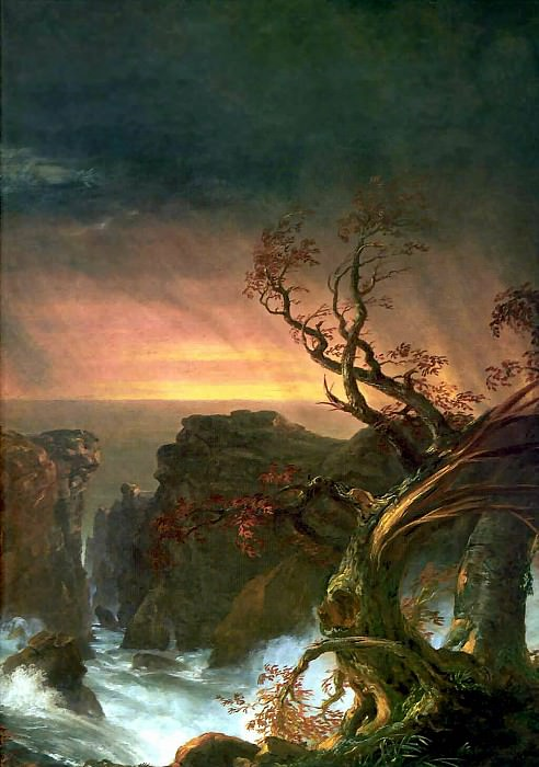 the voyage of life manhood. Thomas Cole