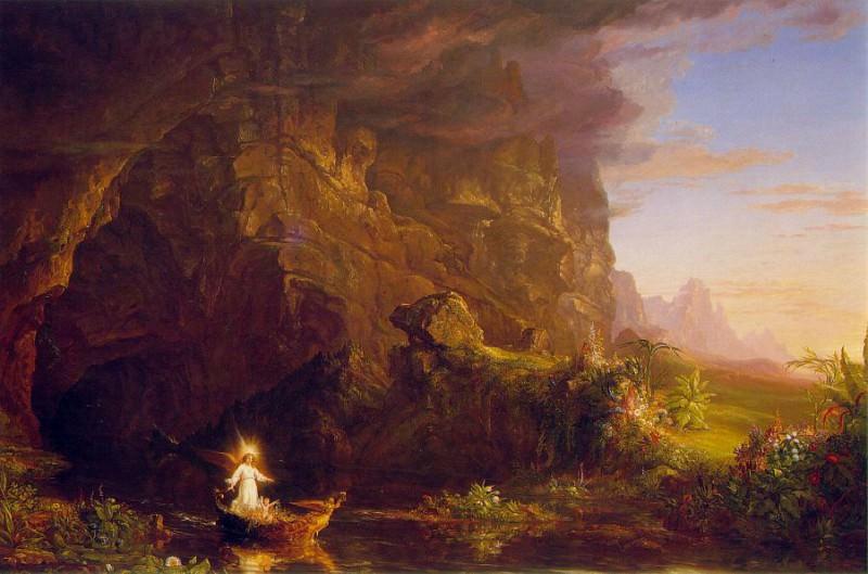 The Voyage of Life Childhood. Thomas Cole