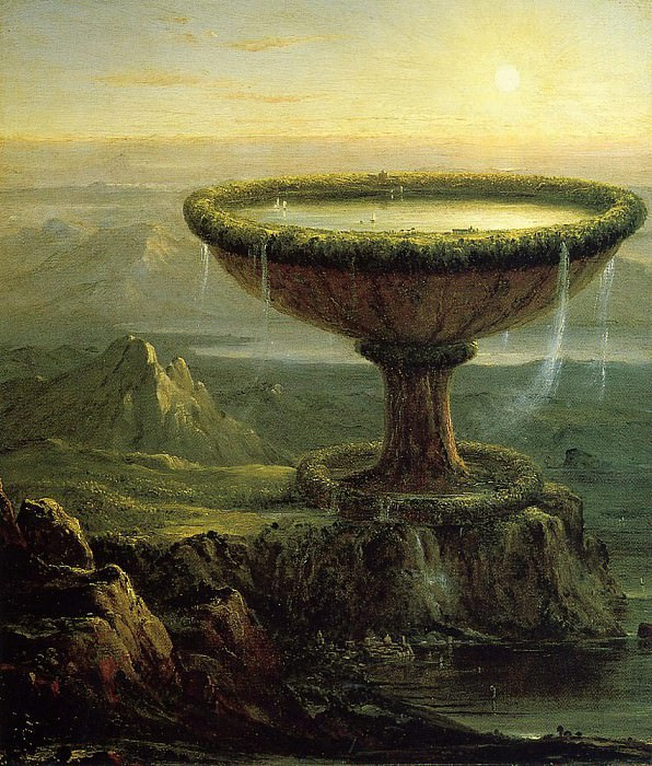 The Titan-s Goblet. Thomas Cole