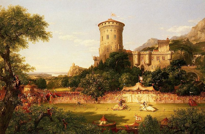 The Past. Thomas Cole