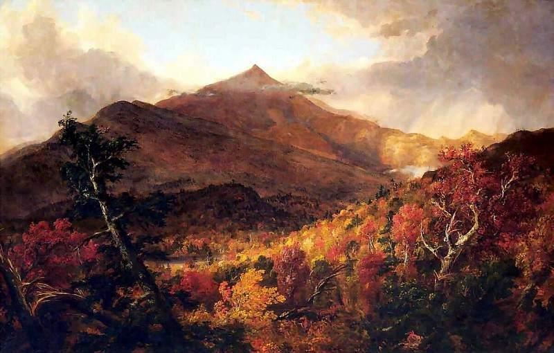 schroon mountain adirondacks. Thomas Cole