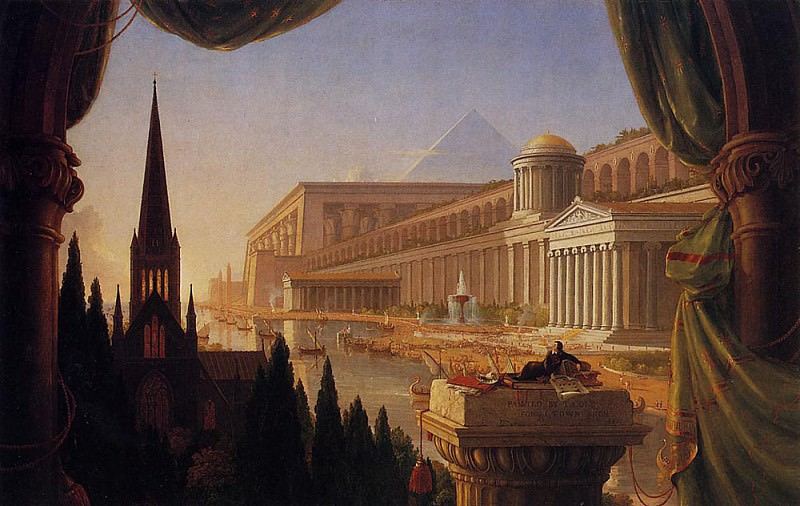 The Architect-s Dream. Thomas Cole