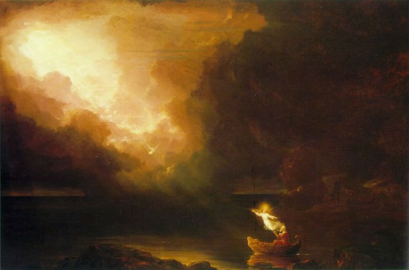 The Voyage of Life Old Age. Thomas Cole
