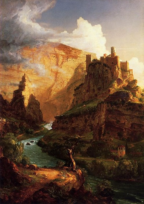 Valley of the Vaucluse. Thomas Cole