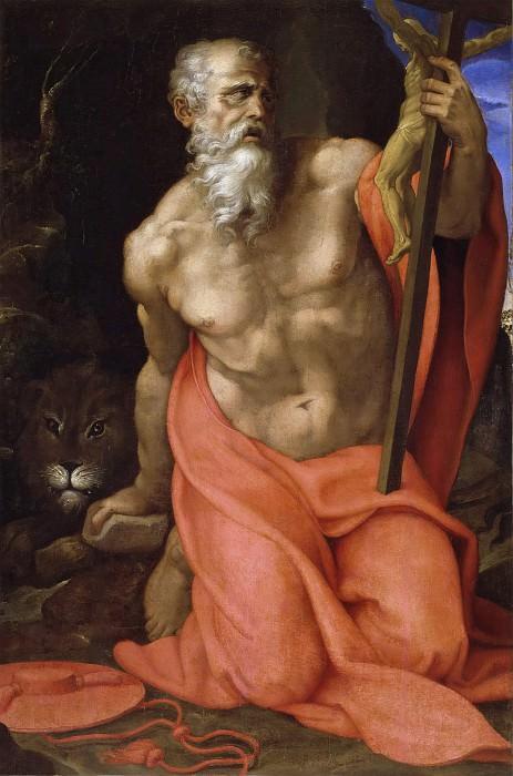 Saint Jerome. Giovanni Girolamo Muziano