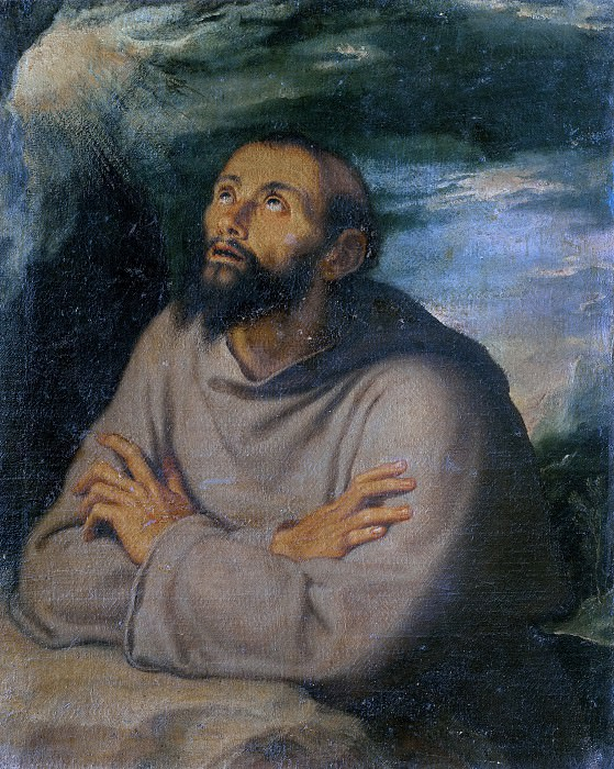 Святой Франциск Ассизский. Джироламо Муциано