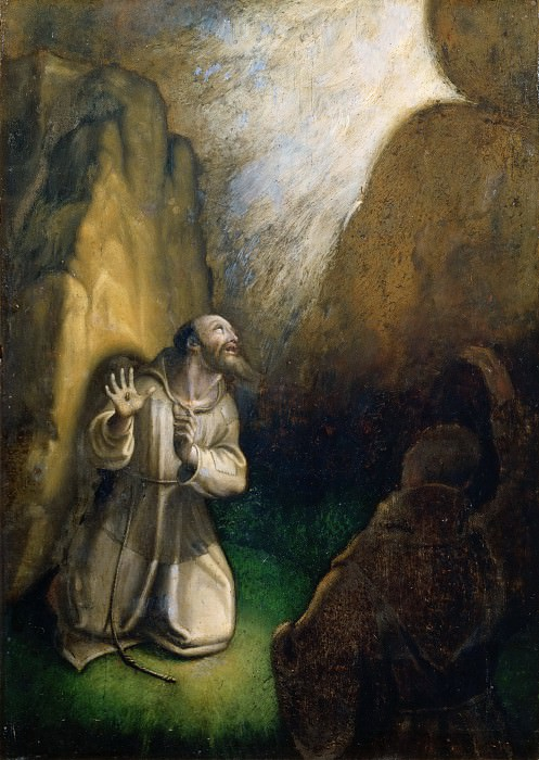 Saint Francis Receiving the Stigmata. Giovanni Girolamo Muziano