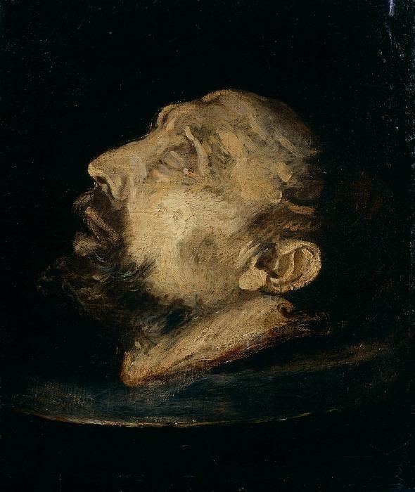Голова святого Иоанна Крестителя. Черано (Джован Баттиста Креспи)