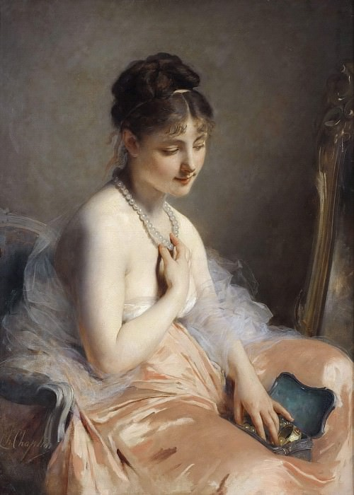The Pearl-necklace. Charles Joshua Chaplin