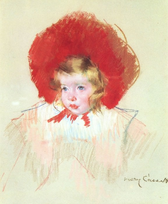 Child with a Red Hat. Mary Cassatt