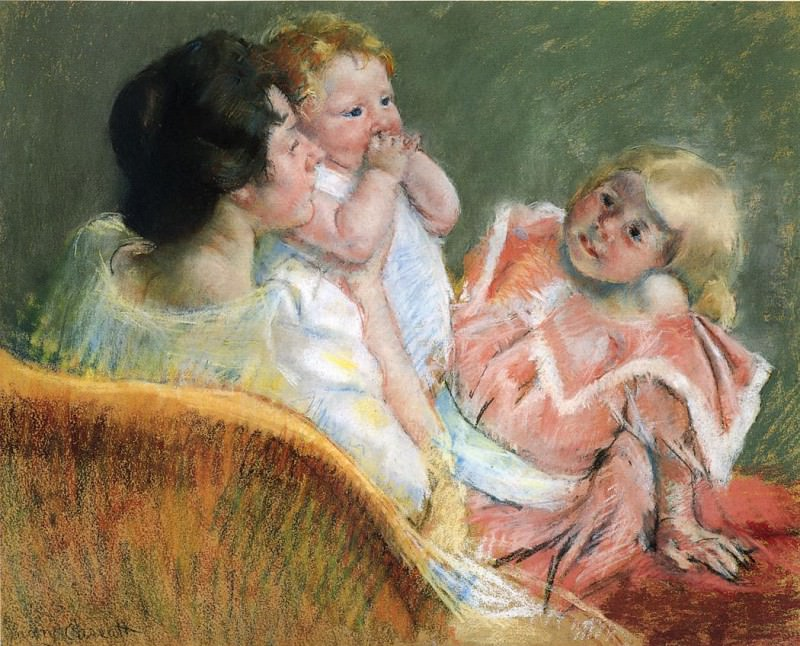 Mother and Children. Mary Cassatt
