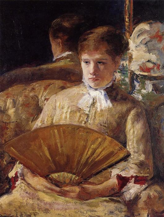 Portrait of a Lady aka Miss Mary Ellison. Mary Cassatt