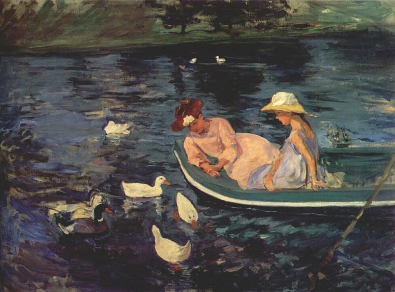 summertime c1894. Mary Cassatt
