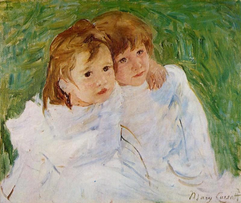 The Sisters. Mary Cassatt