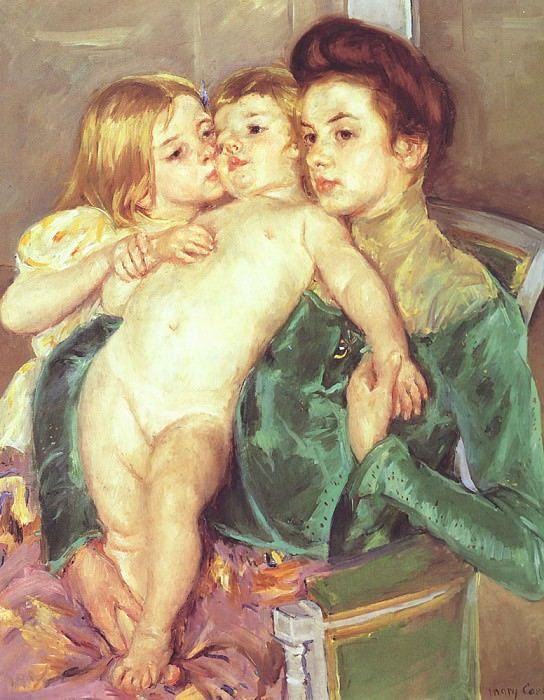 The Caress. Mary Cassatt