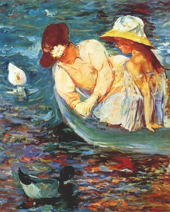 summertime ii c1894. Mary Cassatt