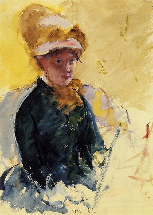Self Portrait. Mary Cassatt