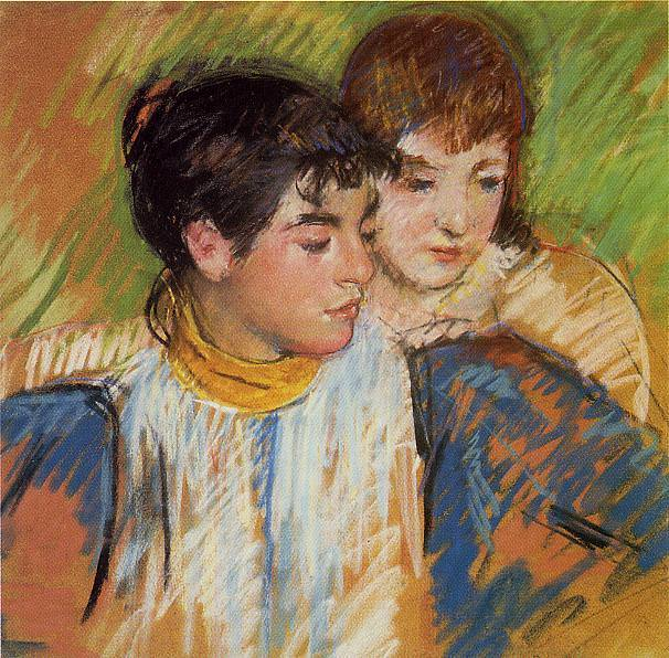 The Two Sisters. Mary Cassatt