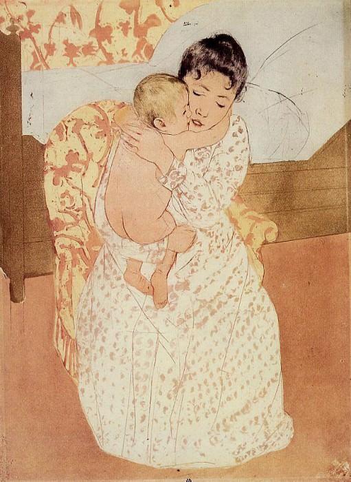 Nude Child. Mary Cassatt