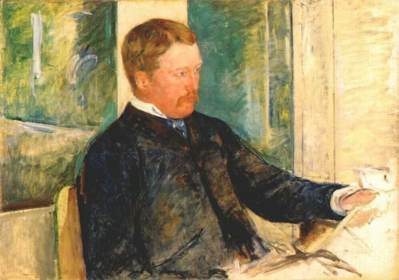 alexander j cassatt 1880. Mary Cassatt
