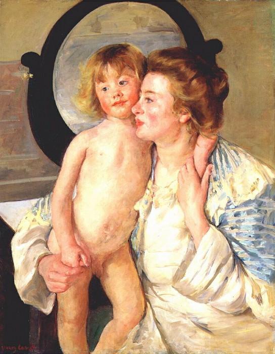 Мать и дитя, 1898. Мэри Кассат