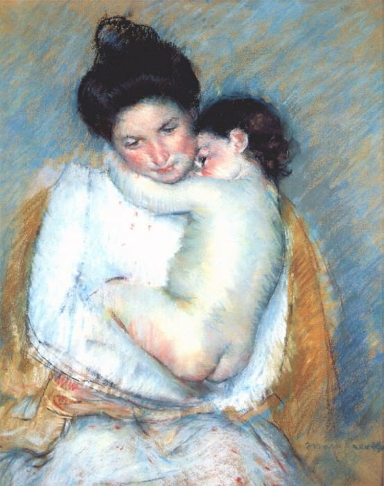 mother and child c1900. Mary Cassatt