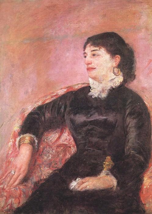 Портрет итальянской дамы. Мэри Кассат