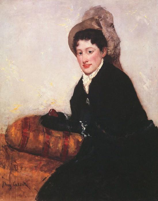 Portrait of a Woman 1878. Mary Cassatt