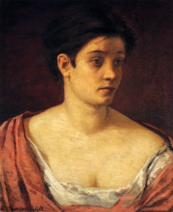 Портрет женщины. Мэри Кассат