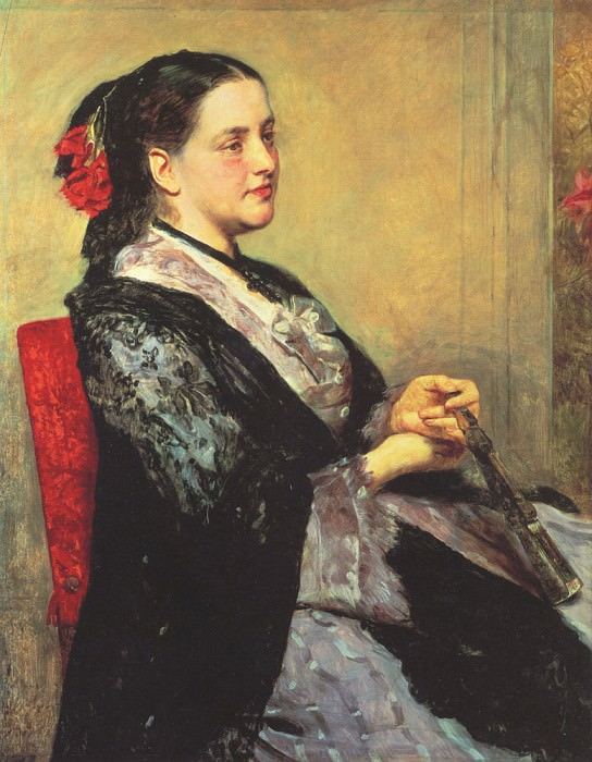 Портрет севильской дамы. Мэри Кассат