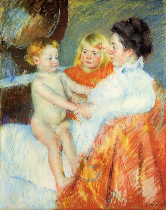 Mother Sara and the Baby. Mary Cassatt