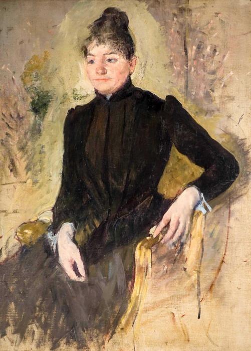 inblack. Mary Cassatt