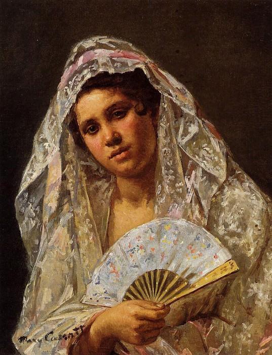 A Seville Belle. Mary Cassatt