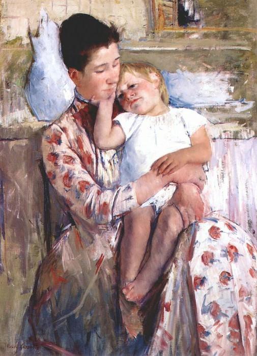 Мать и дитя, 1889. Мэри Кассат