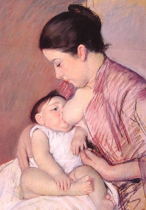 Материнство. Мэри Кассат