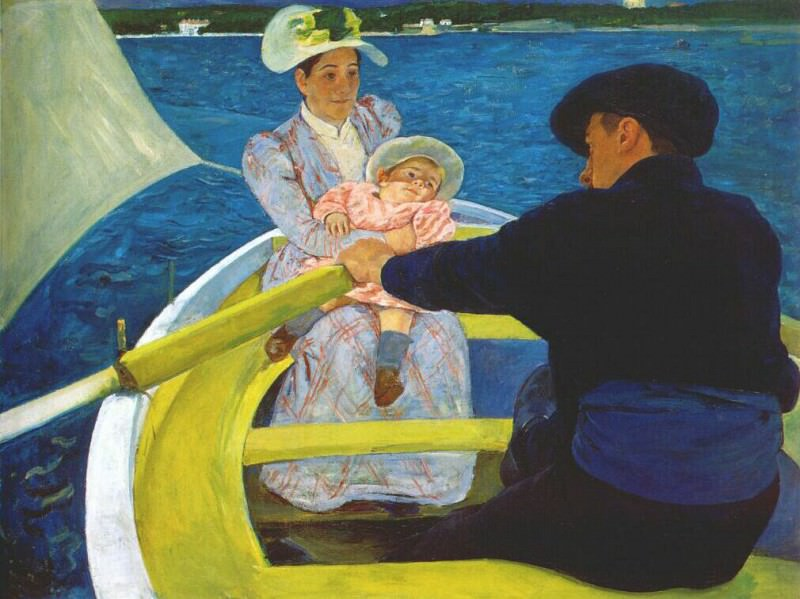 the boating party 1894. Mary Cassatt
