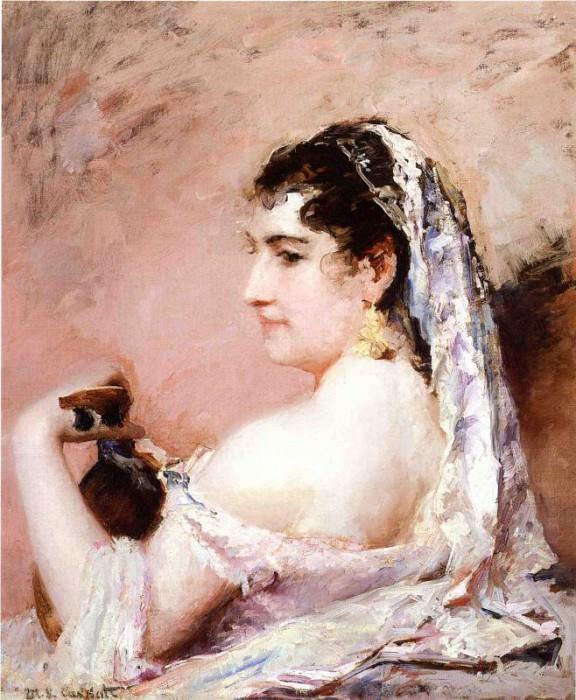 Roman Girl. Mary Cassatt