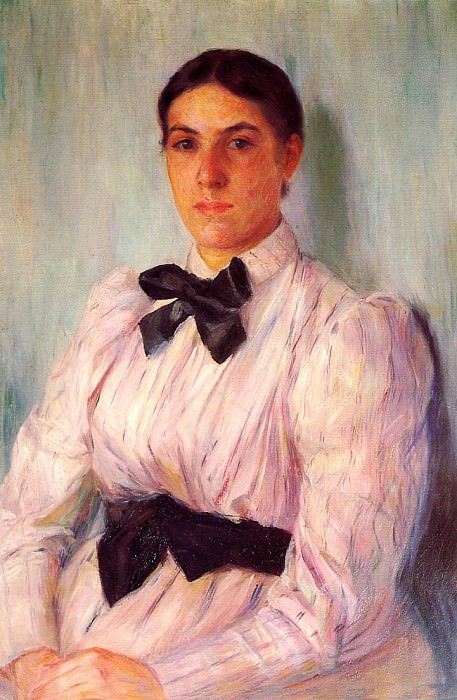 Portrait of Mrs. William Harrison. Mary Cassatt