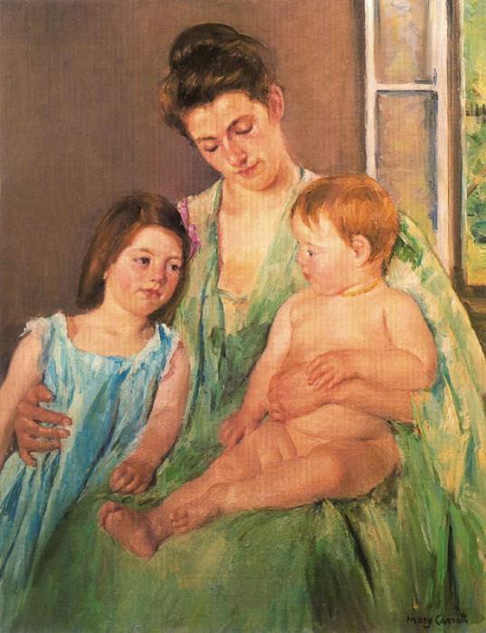 #19284. Mary Cassatt