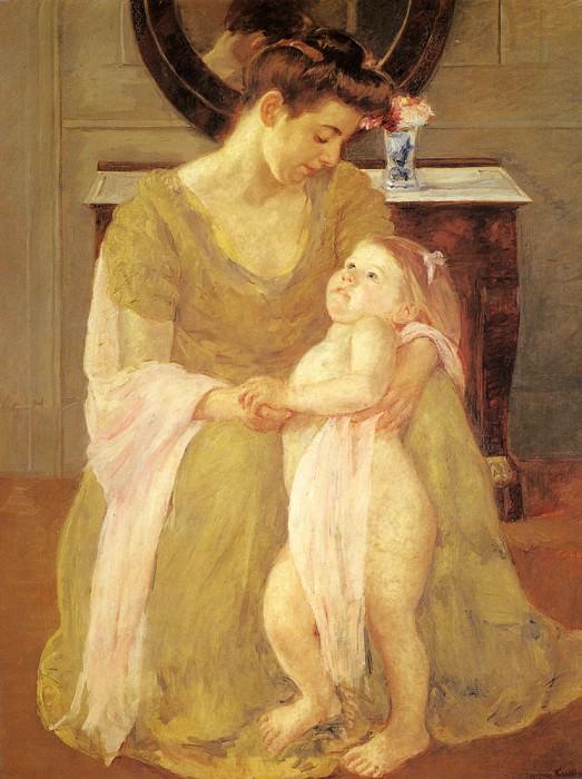 Мать и дитя, 1908. Мэри Кассат