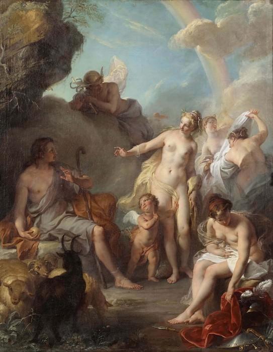 The Judgement of Paris. Noël-Nicolas Coypel