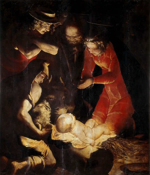 Adoration of the Shepherds. Luca Cambiaso