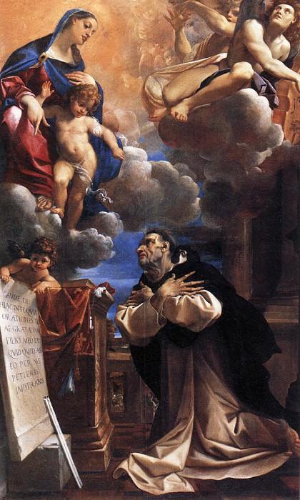 Явление Девы Марии Св. Гиацинту. Лодовико Карраччи