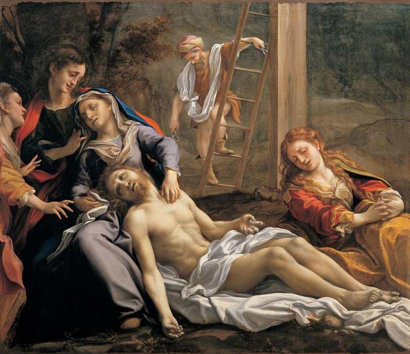 Deposition from the Cross. Correggio (Antonio Allegri)