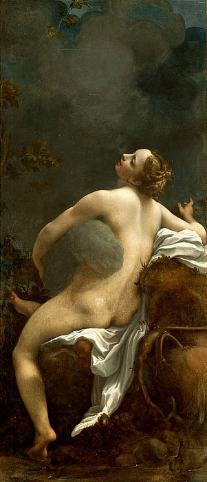 Jupiter and Io. Correggio (Antonio Allegri)