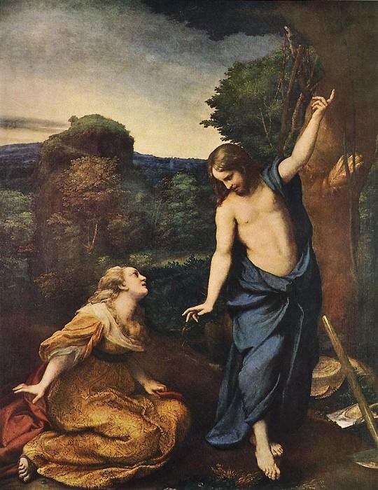 Noli Me Tangere. Correggio (Antonio Allegri)