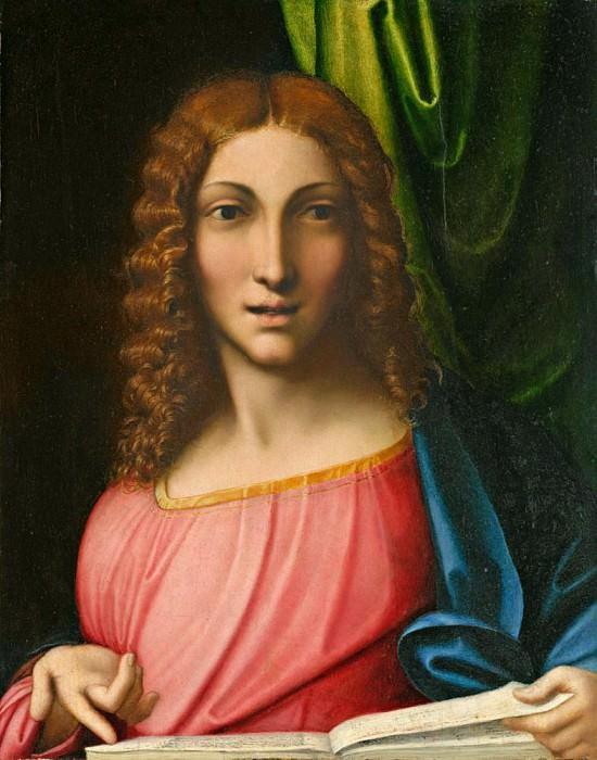 Salvator Mundi. Correggio (Antonio Allegri)