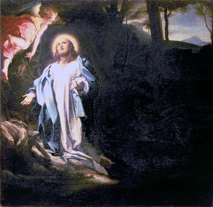 Христос в Гефсиманском саду (картина) — Корреджо (Антонио Аллегри)