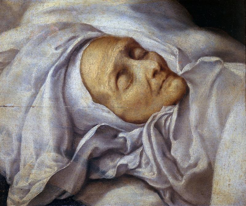 Сант-Анджела Меричи на смертном одре. Бартоломео Чези