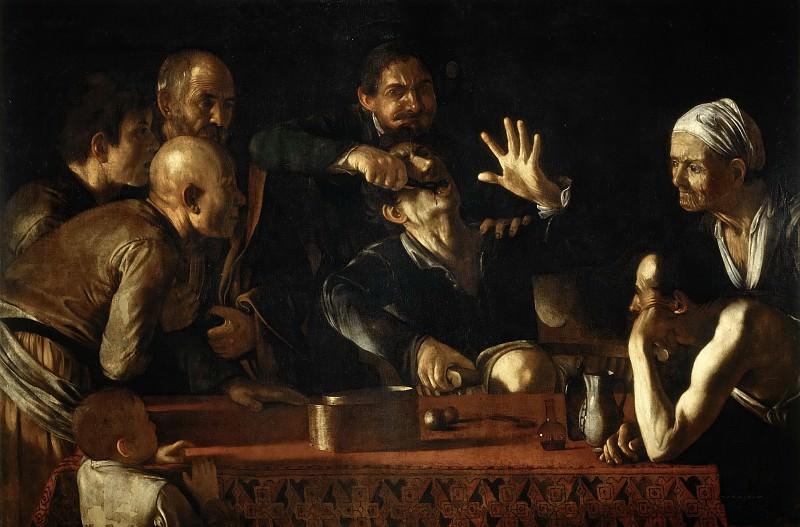 Зубодер (атр.). Микеланджело Меризи да Караваджо